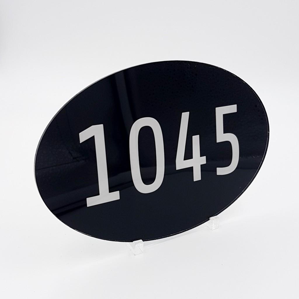 num ro de maison plexiglas sur mesure exemple 1. Black Bedroom Furniture Sets. Home Design Ideas